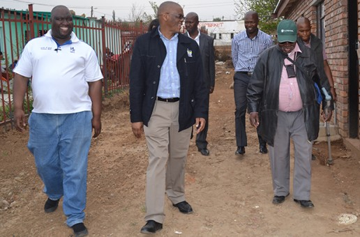 Premier happy with QwaQwa houses